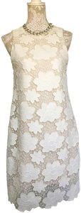 Julia Jordan Midi Lace Floral Dress