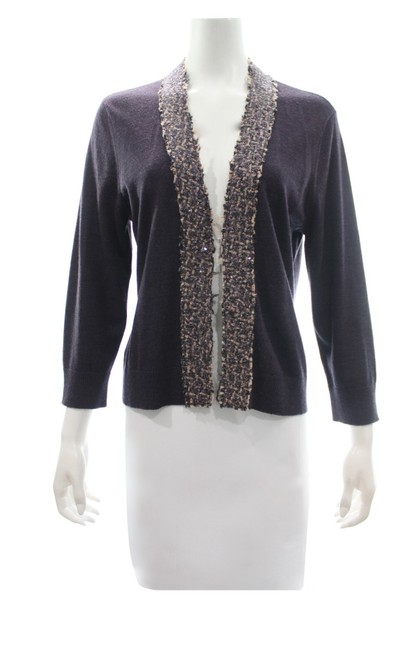 Preload https://img-static.tradesy.com/item/25820156/tory-burch-xl-merino-wool-cardigan-with-sequined-trim-size-purple-sweater-0-0-650-650.jpg