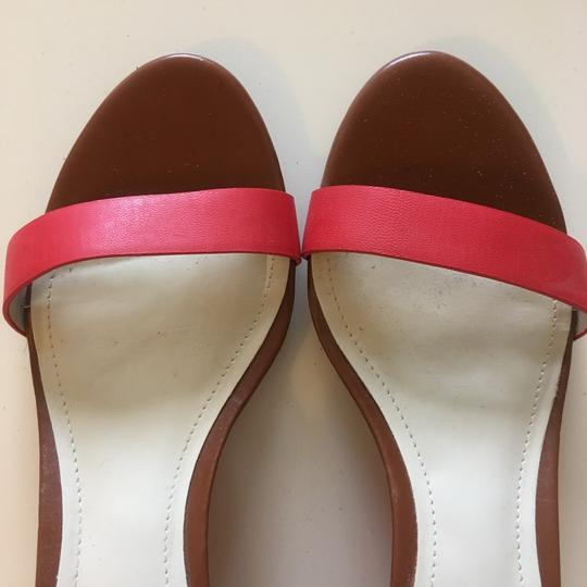 BCBGeneration Tan red Wedges Image 1