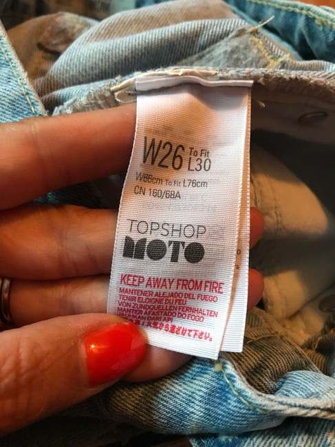 Topshop Moto Sequin 26 Relaxed Fit Jeans Image 5