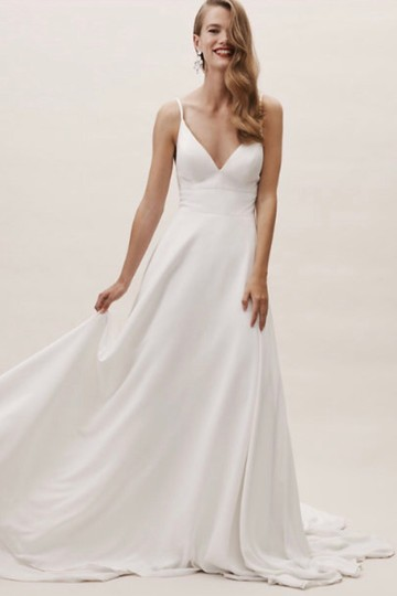 Preload https://img-static.tradesy.com/item/25820262/bhldn-ivory-polyester-polyester-lining-beloved-gown-casual-wedding-dress-size-10-m-0-0-540-540.jpg