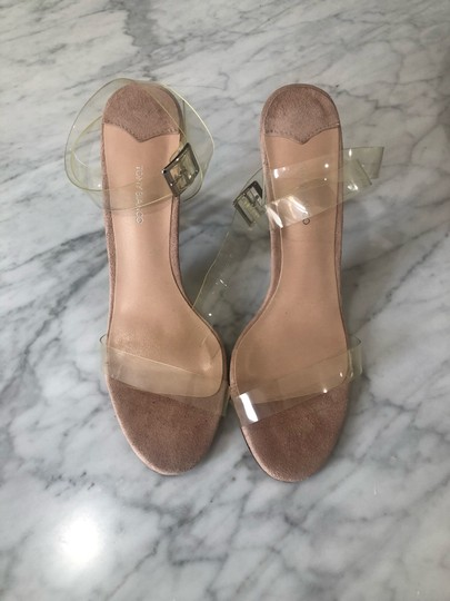 Tony Bianco Clear Acetate nude Sandals Image 2