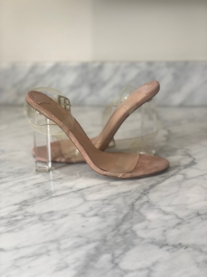 Tony Bianco Clear Acetate nude Sandals Image 6