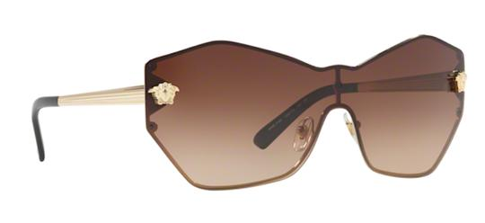Versace Large Butterfly Shape Shield VE 2182 125213 Free 3 Day Shipping Image 10