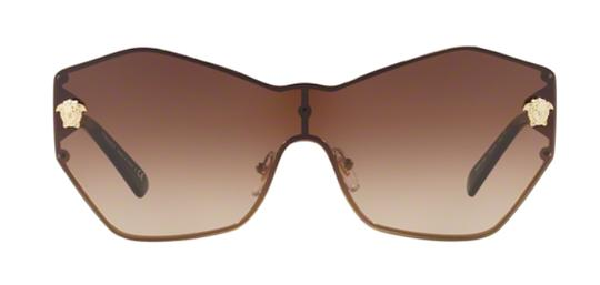Versace Large Butterfly Shape Shield VE 2182 125213 Free 3 Day Shipping Image 9