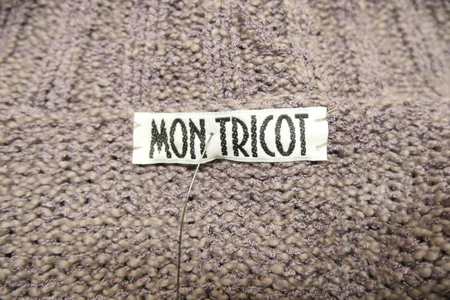Mon Tricot Poncho Sweater Mother Of Pearl Vintage Handmade Cardigan Image 8