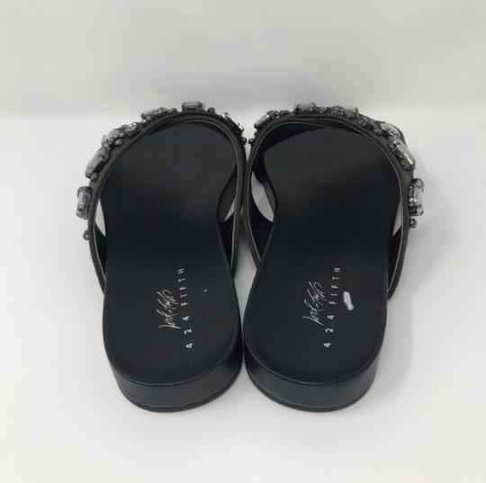 Lord & Taylor Black Sandals Image 3