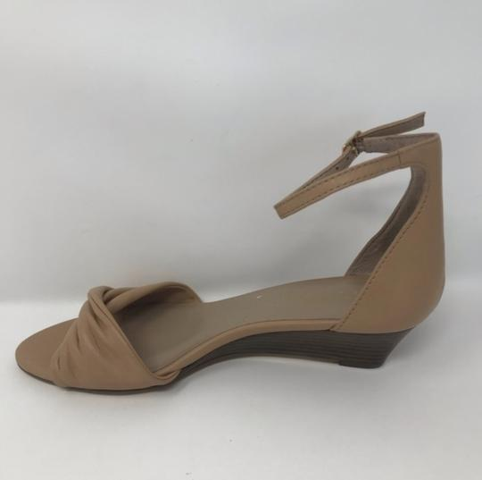 Lord & Taylor Tan Wedges Image 1