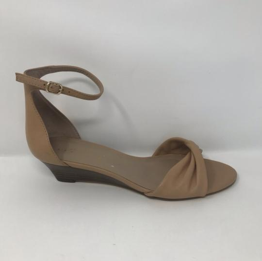 Lord & Taylor Tan Wedges Image 2