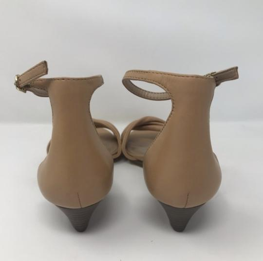 Lord & Taylor Tan Wedges Image 3