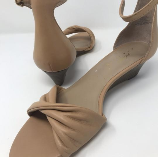 Lord & Taylor Tan Wedges Image 6