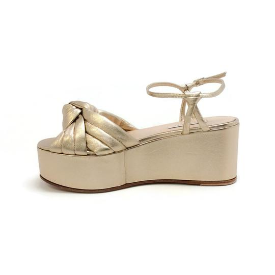 Casadei Gold Sandals Image 2