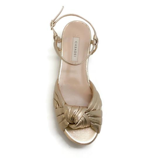 Casadei Gold Sandals Image 3