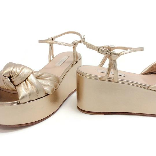Casadei Gold Sandals Image 6