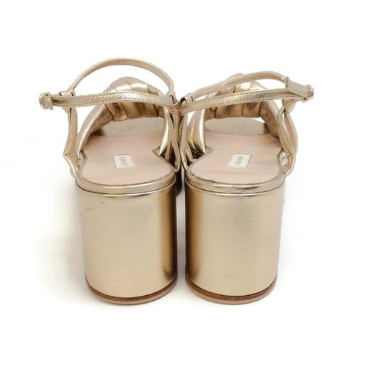 Casadei Gold Sandals Image 7