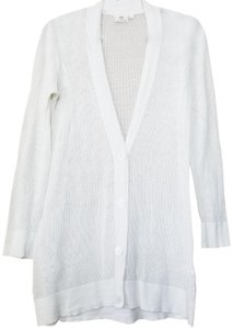 AG Adriano Goldschmied Cashmere Cotton Airy Layering Casual Cardigan