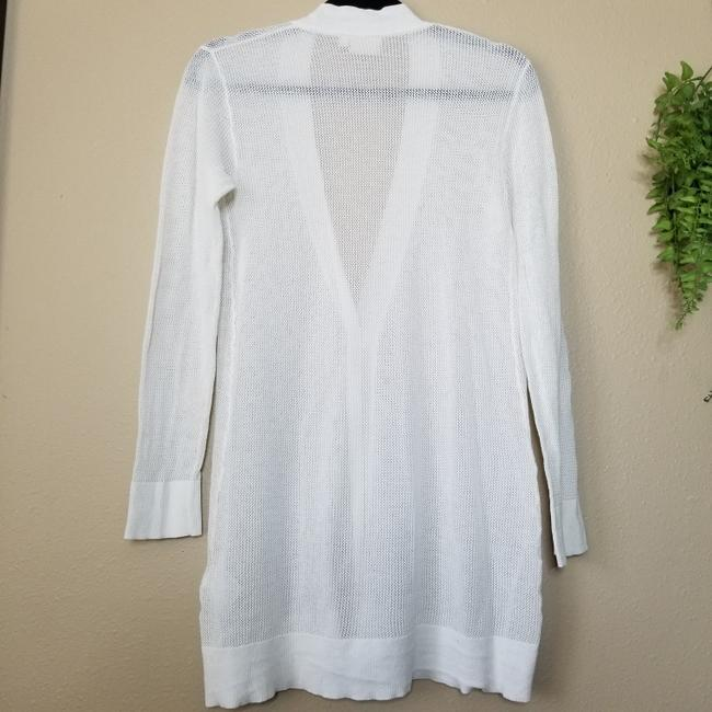 AG Adriano Goldschmied Cashmere Cotton Airy Layering Casual Cardigan Image 1