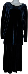 Linda Leal 2pc Long Skirt Tunic Top Special Occasion Dress