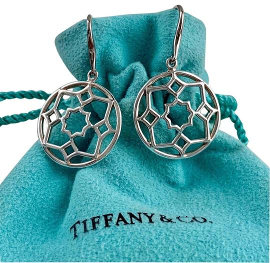 Preload https://img-static.tradesy.com/item/25820548/tiffany-and-co-paloma-picasso-silver-round-zellige-dangle-earrings-0-1-540-540.jpg