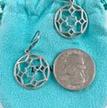 Tiffany & Co. Paloma Picasso Silver Round Zellige Dangle Earrings Image 5