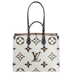 Louis Vuitton Onthego Jungle Monogram Canvas Limited Edition Shoulder Bag