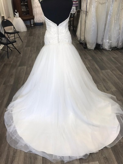House of Wu Ivory Private Collection Traditional Wedding Dress Size 14 (L) Image 2