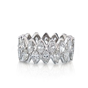 Other Marquise Cut Diamond Eternity Wedding Band 7.50cts