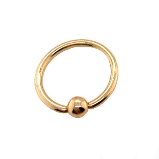 other (2158) 14K Gold Nose Ring Image 1