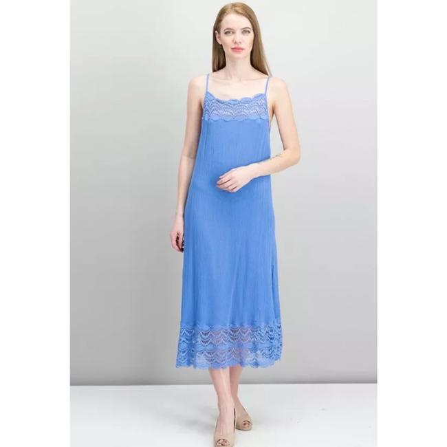 Blue Maxi Dress by Free People Image 1