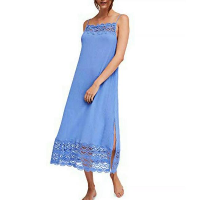 Blue Maxi Dress by Free People Image 2