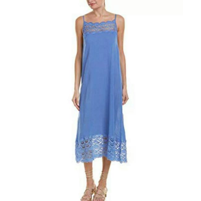 Blue Maxi Dress by Free People Image 3