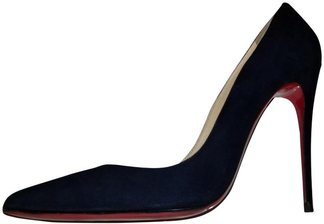 Item - Navy Blue So Kate Suede Red Sole Pumps Size EU 41 (Approx. US 11) Regular (M, B)