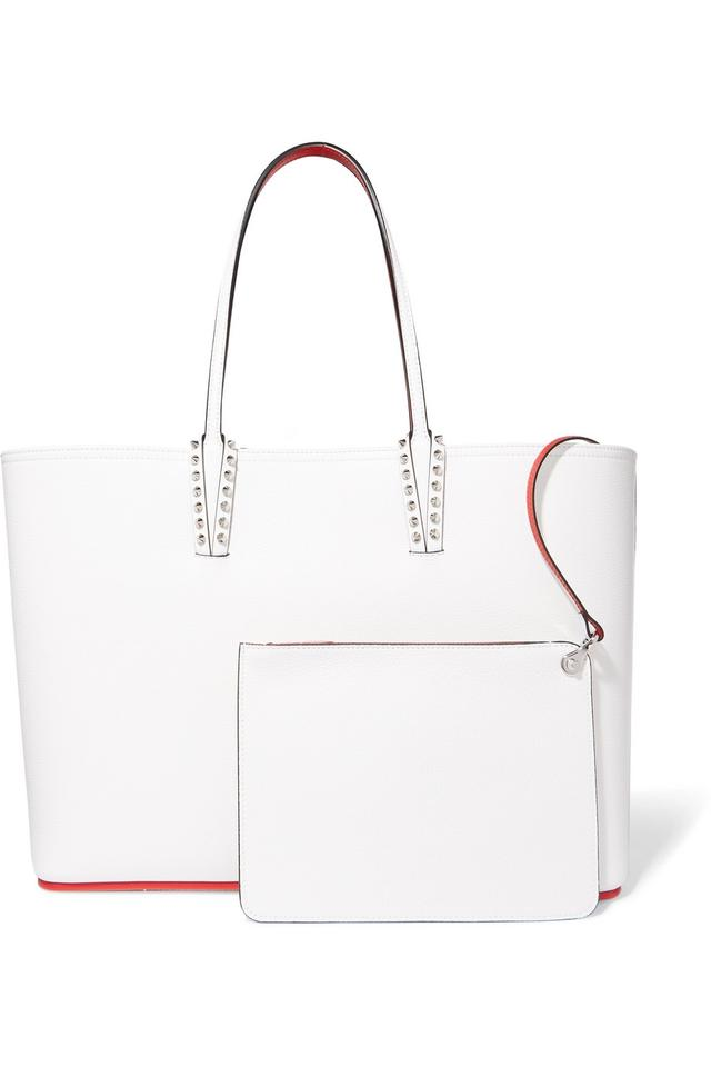 0fceb998920 Christian Louboutin Bag - Cabata White Leather Tote