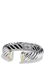 David Yurman David Yurman Waverly Bracelet with Gold