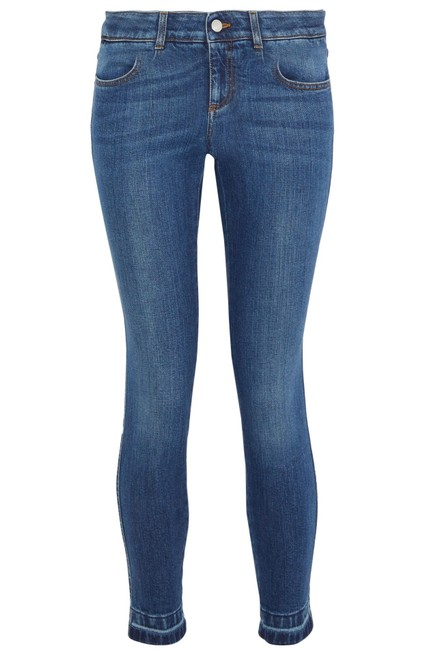 Item - Blue Medium Wash Low-rise Skinny Jeans Size 8 (M, 29, 30)