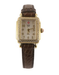 Michele Michele Mini Deco Diamond Watch