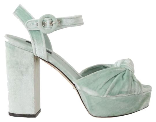 Preload https://img-static.tradesy.com/item/25822043/dolce-and-gabbana-green-aquamarine-velvet-sandals-size-eu-39-approx-us-9-regular-m-b-0-1-540-540.jpg