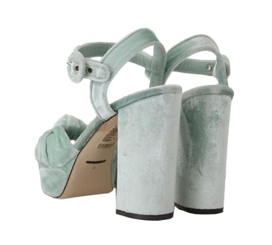 Dolce&Gabbana Green Sandals Image 1