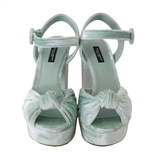 Dolce&Gabbana Green Sandals Image 5