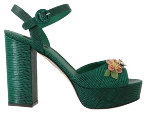 Dolce&Gabbana Green Sandals