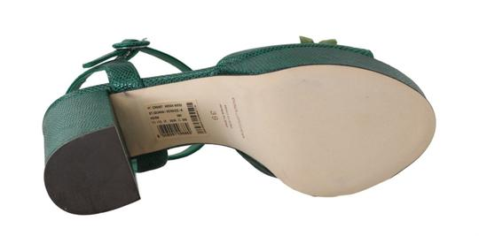 Dolce&Gabbana Green Sandals Image 3