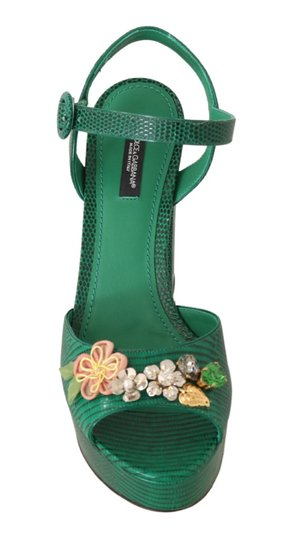 Dolce&Gabbana Green Sandals Image 4