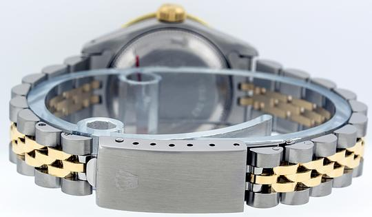 Rolex Ladies Datejust Ss/Yellow Gold with String Diamond Dial Image 1