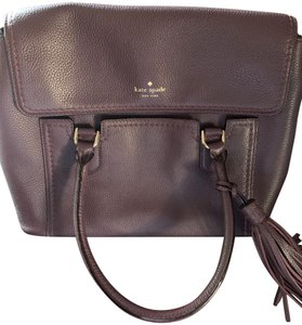 Kate Spade Satchel in Wine