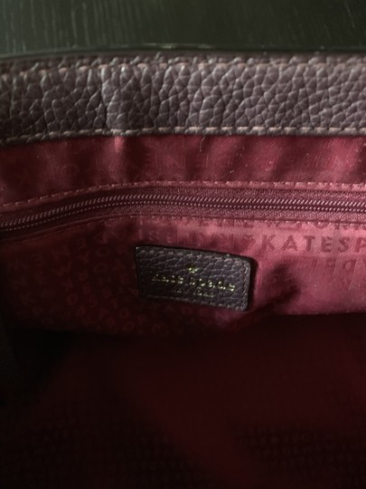 Kate Spade Satchel in Wine Image 4