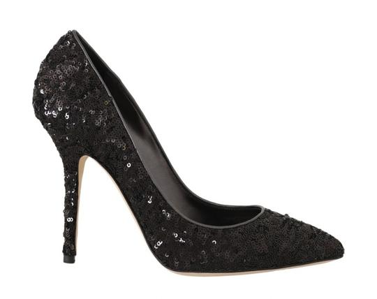Preload https://img-static.tradesy.com/item/25822081/dolce-and-gabbana-black-sequined-leather-heels-pumps-size-eu-37-approx-us-7-regular-m-b-0-0-540-540.jpg
