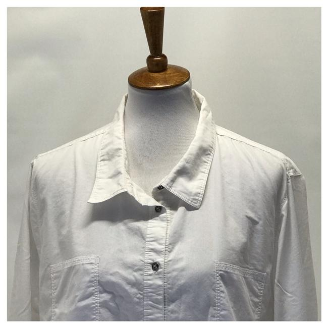 Wendy Williams Collection Button Down Shirt White Image 2