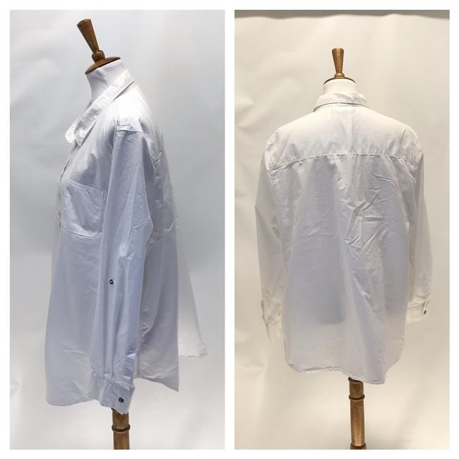 Wendy Williams Collection Button Down Shirt White Image 4