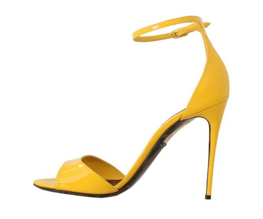 Dolce&Gabbana Yellow Sandals Image 2