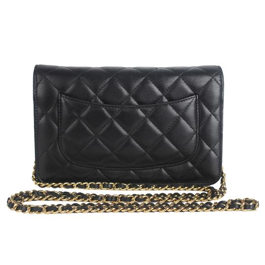Chanel Wallet On A Chain Leather Woc Cross Body Bag Image 2